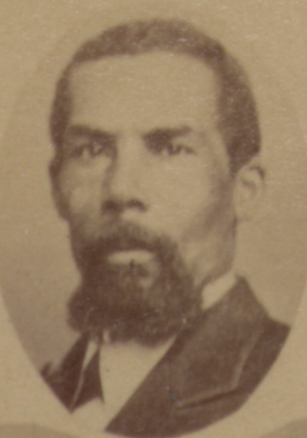 Issac D. Shadd, Freeman Shadd's husband. Shadd was also an abolitionist and worked along side his wife and sister when they ran their school in Chatham.