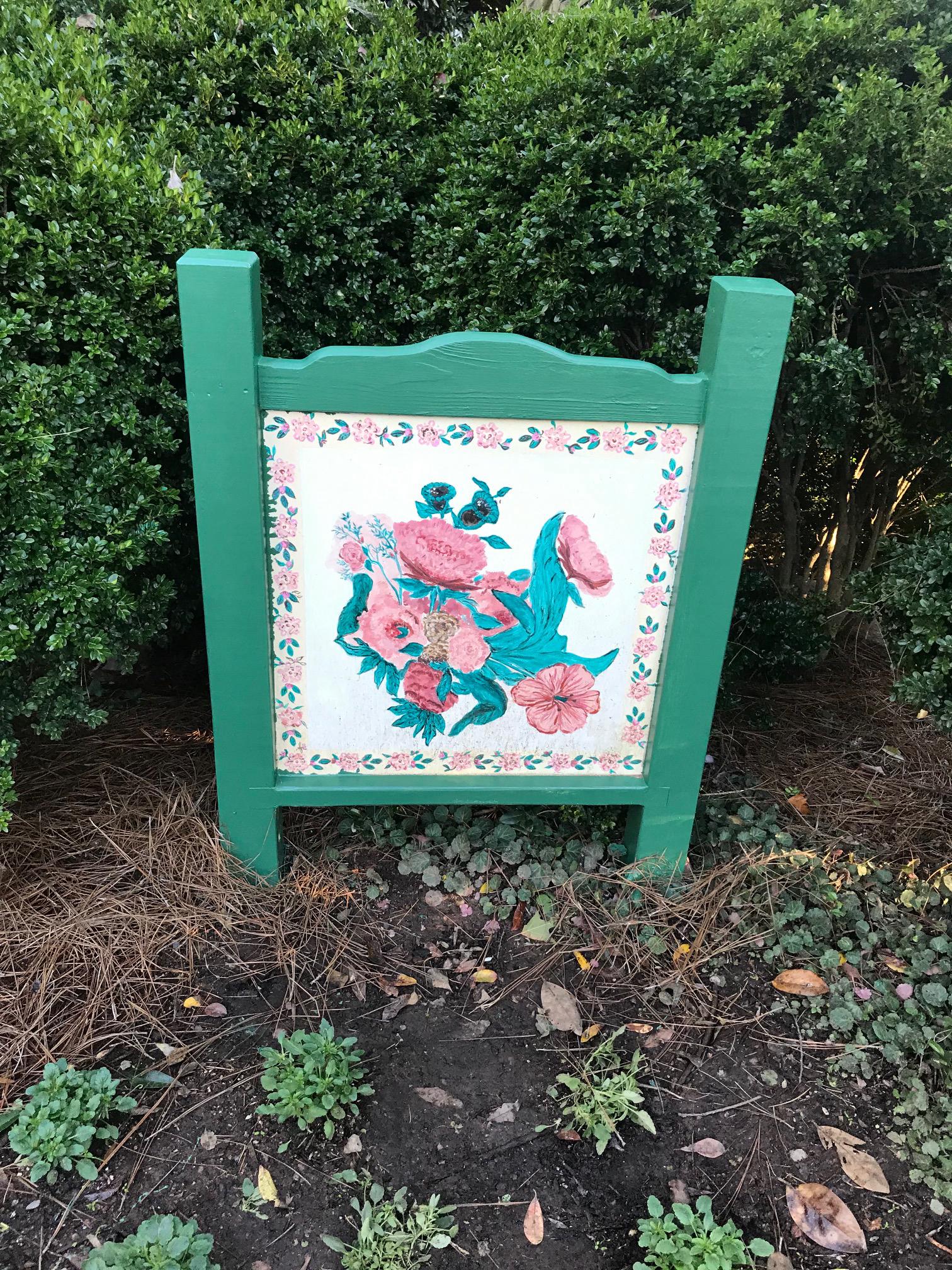 Cornelia's Garden Quilt Square