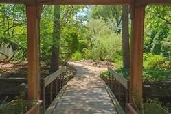 Entryway to the Botanical Garden