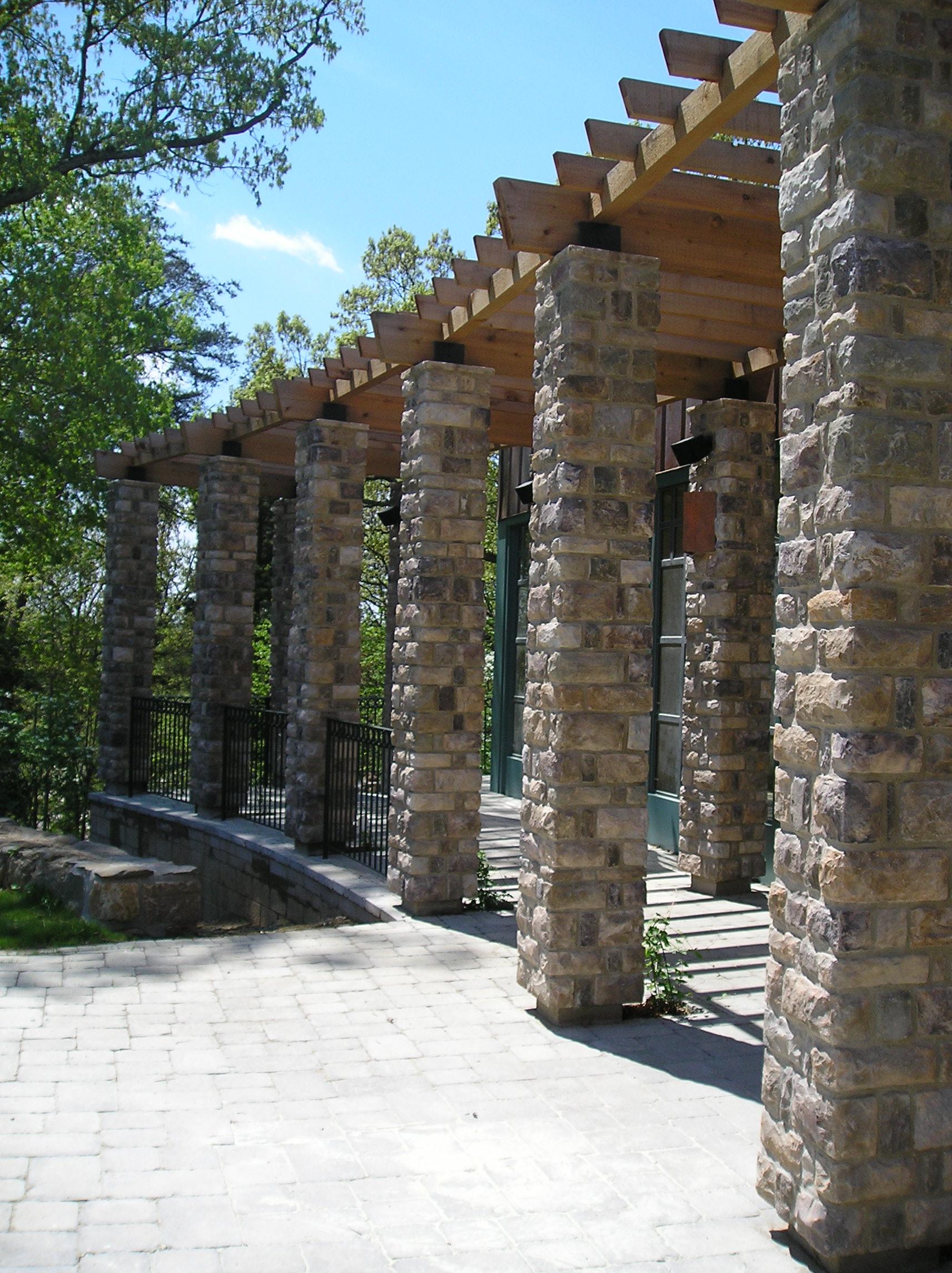 Studio Pavilion, garden terrace