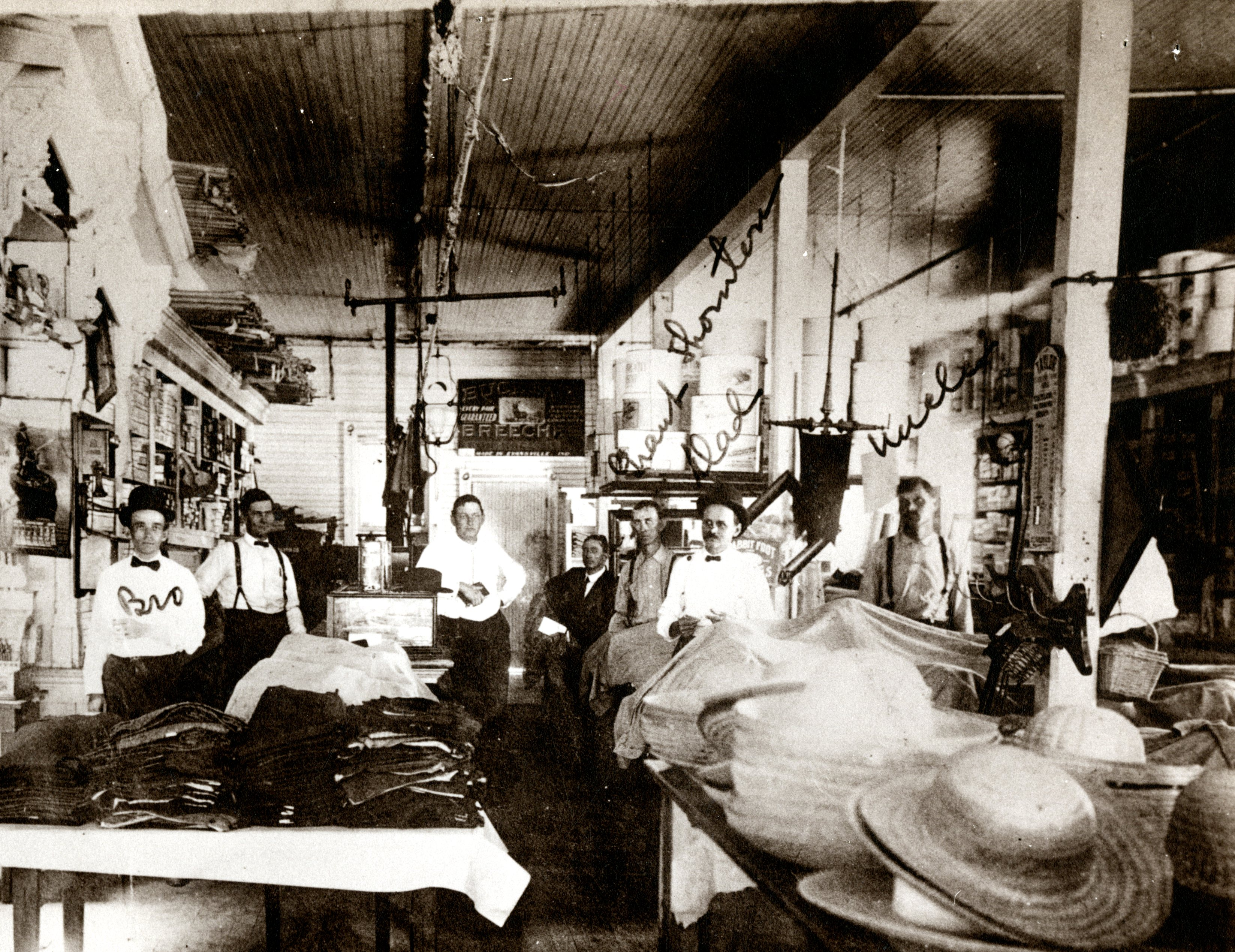S.S. Coachman's General Store, Clearwater, Florida, 1902.