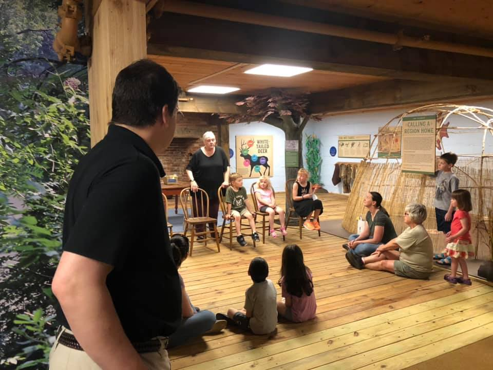 Discovering Home - Storytelling during Exhibit Opening Event