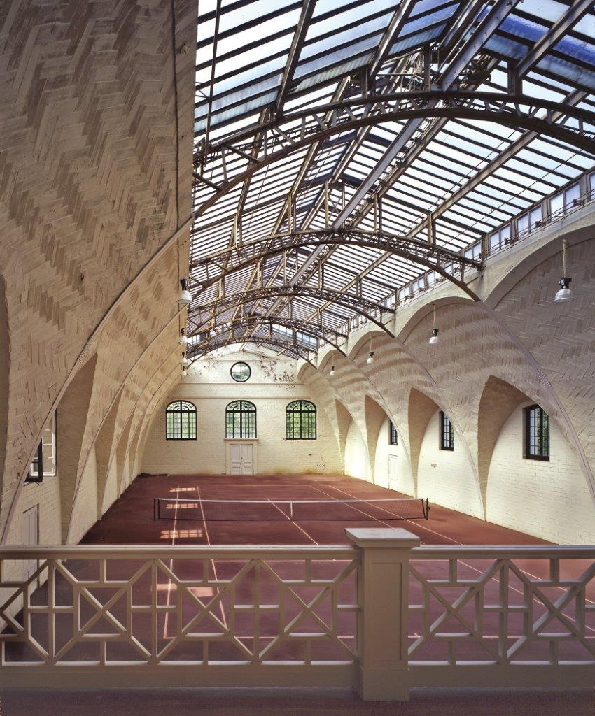 The Indoor Clay Tennis Courts