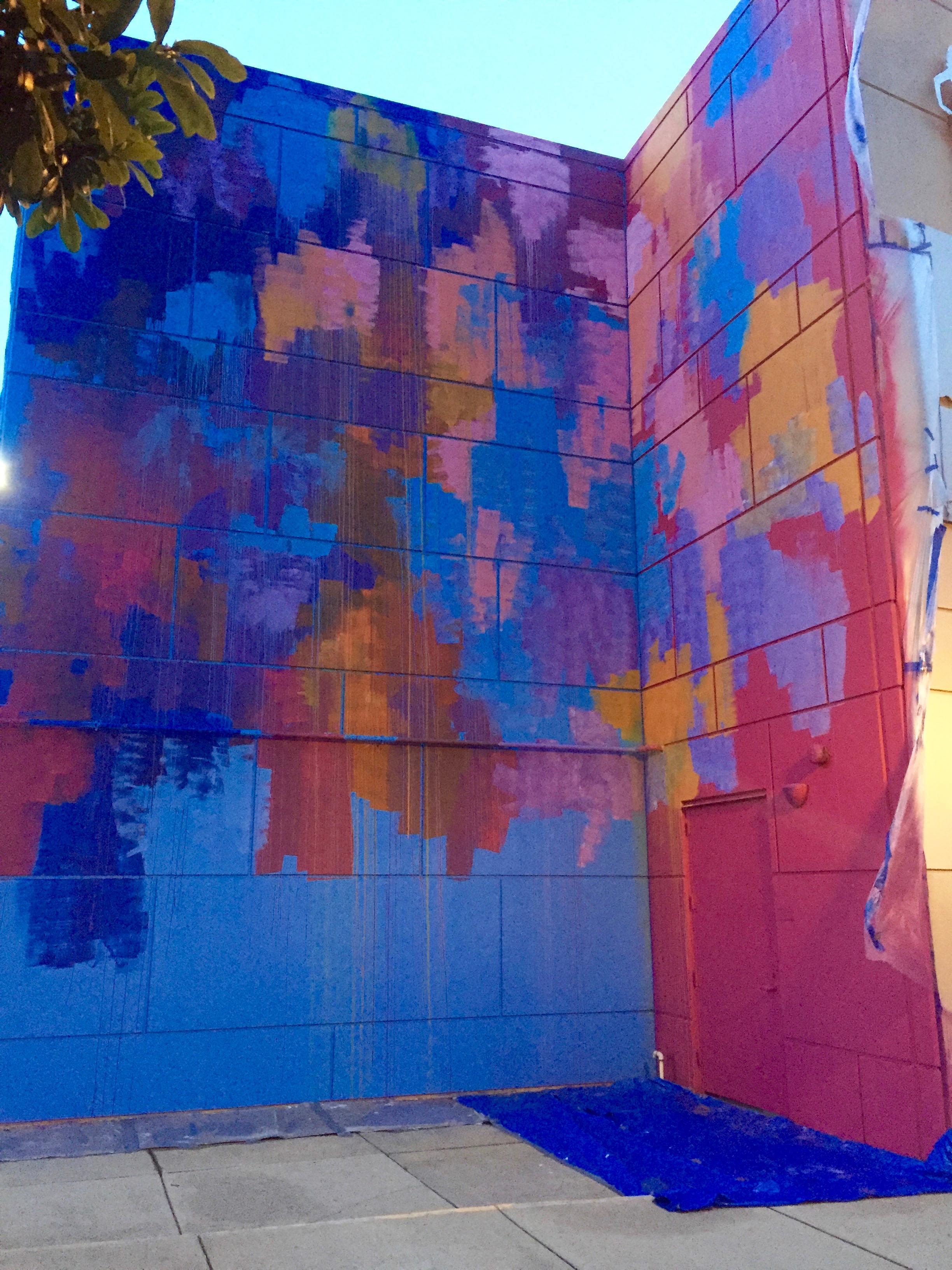 Property, Blue, Paint, World