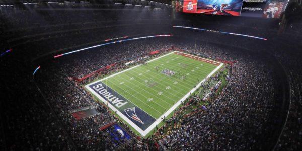 NRG stadium during Super Bowl LI