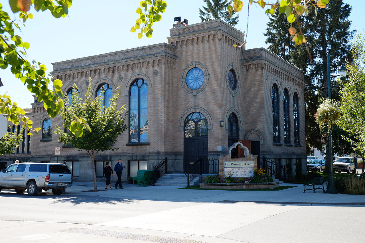 The First Presbyterian Church of Whitefish was built in 1921 and has been an important social, religious and education center for the city ever since.