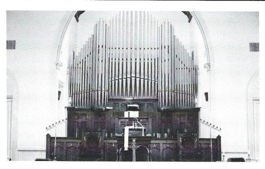 New pipe organ installed 1909