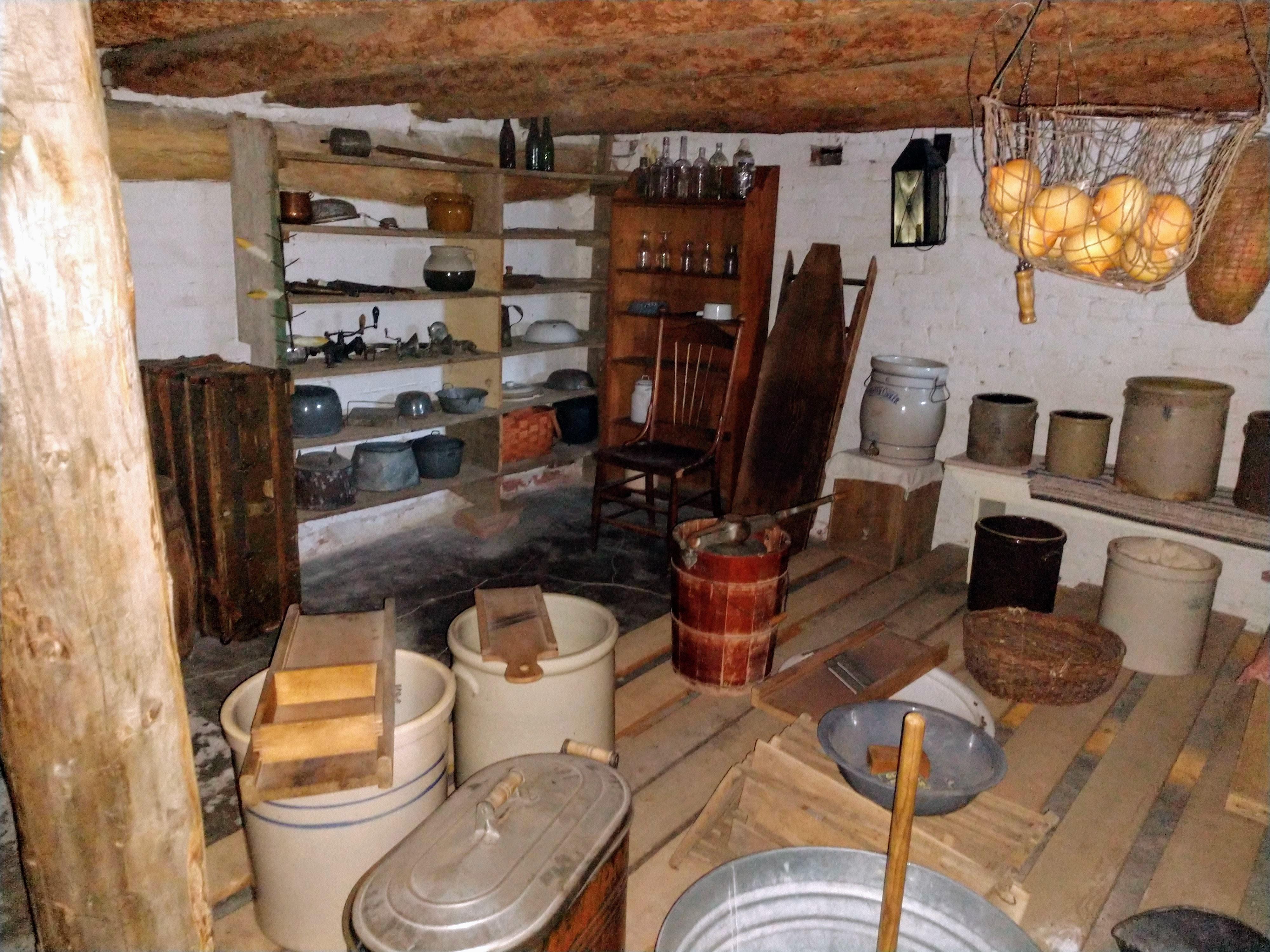 The cellar.