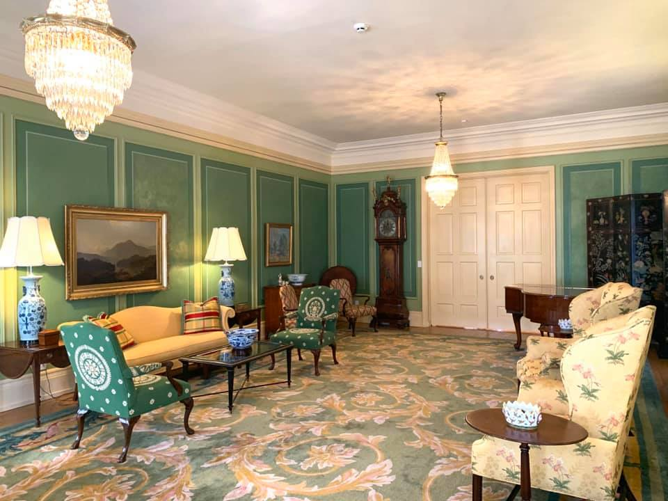 Main Living Room (Withdrawing Room) of Mansion