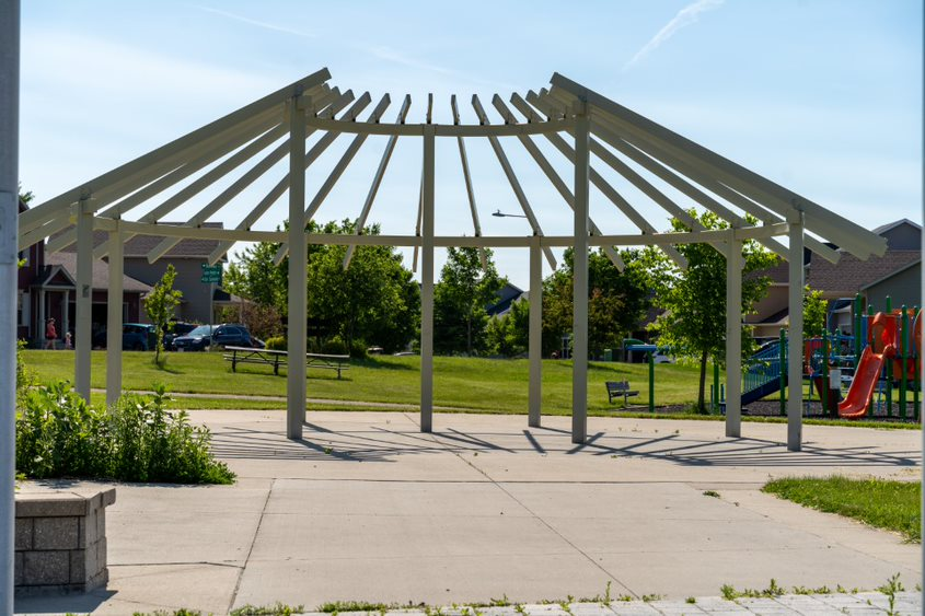 Veterans Memorial Park Sculpture