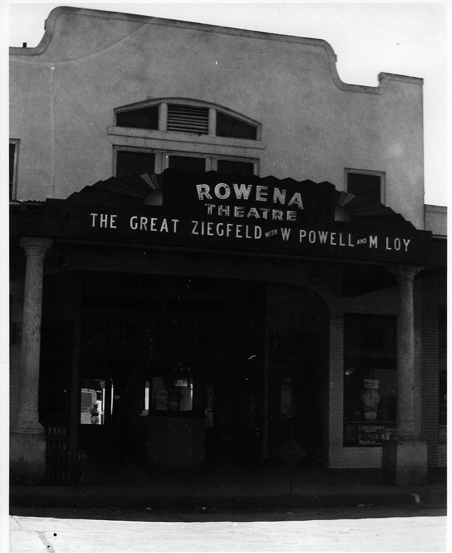 Rowena Theatre, 1936