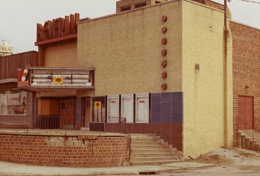 The Beverly shortly after it closed, circa 1970