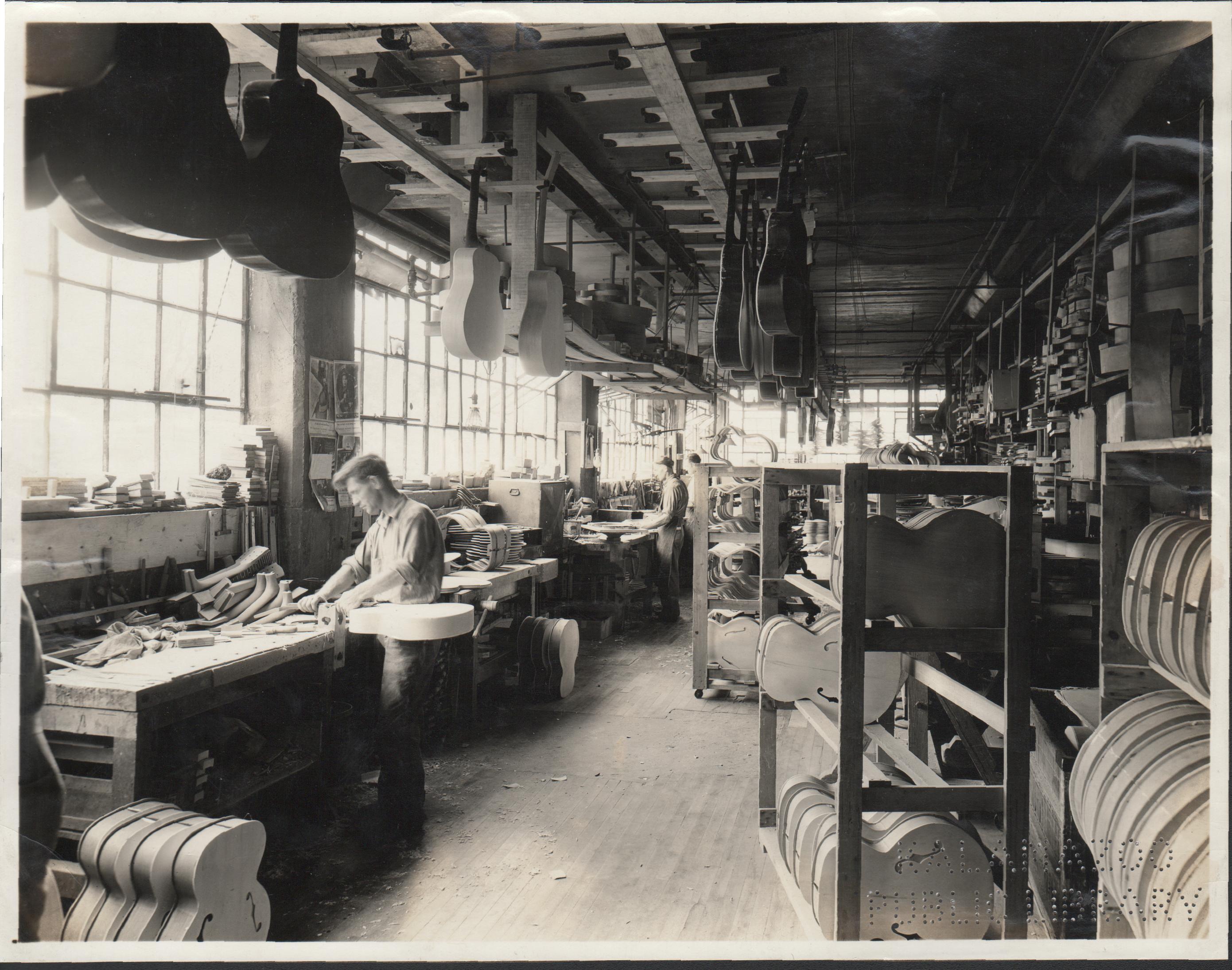 Gibson, Inc., Interior, 1936 Source: Kalamazoo Public Library Photograph P-79