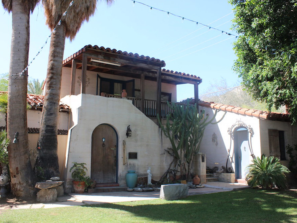 Cactus Castle, The Historic Moorten Home