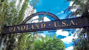 Entrance to Dinoland USA