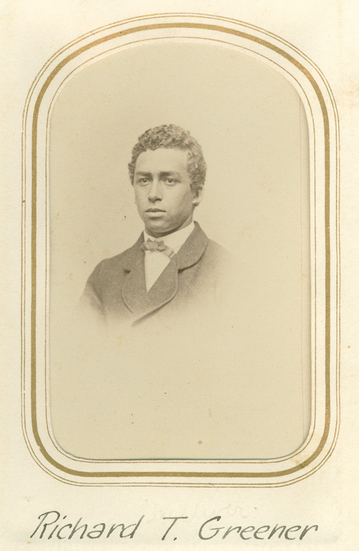 Richard T. Greener, class of 1865