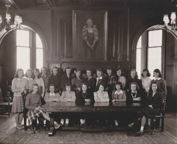 Buffalo Academy Students in 1950