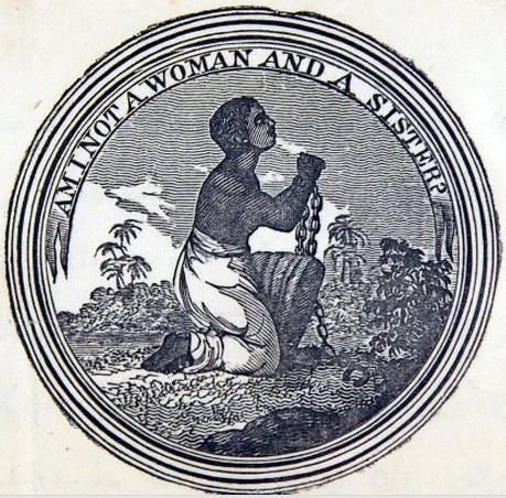 The seal of the Philadelphia Female Anti-Slavery Society.