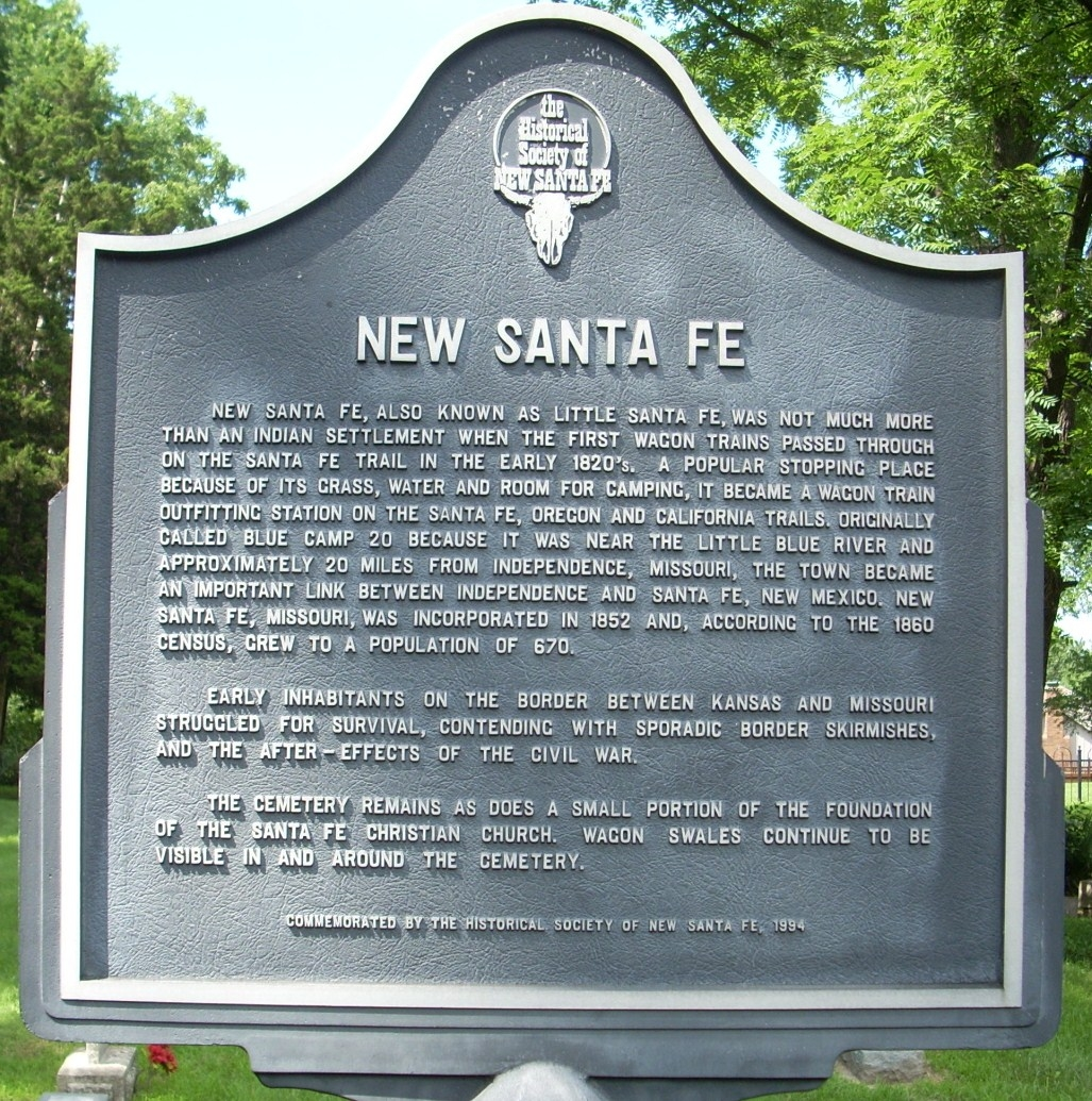 Historical Marker at the cemetery