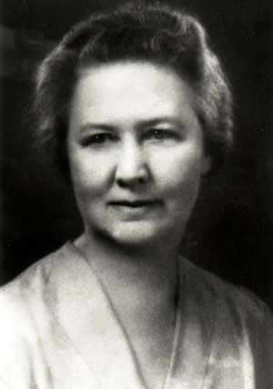 Pictured is Marie Selby (1885-1971) who left her property as a botanical garden.