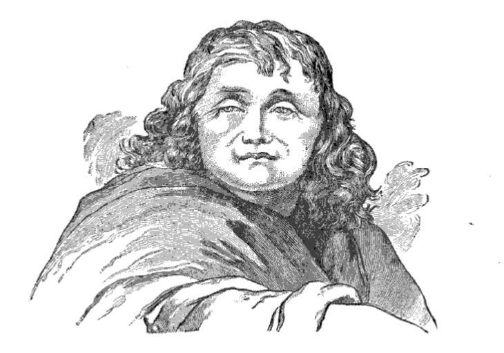 Drawing of Anne Bailey