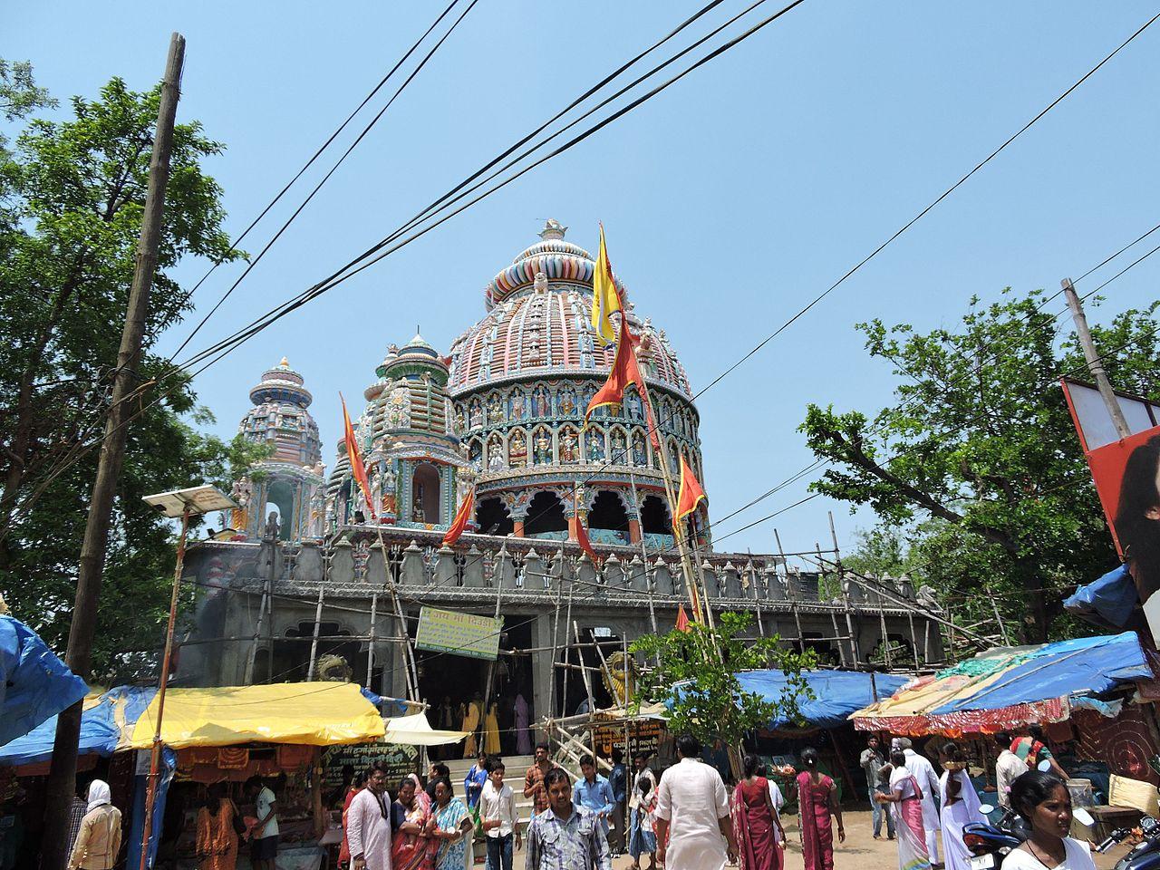 Maa Dewri Temple on the Day of Durga Pooja