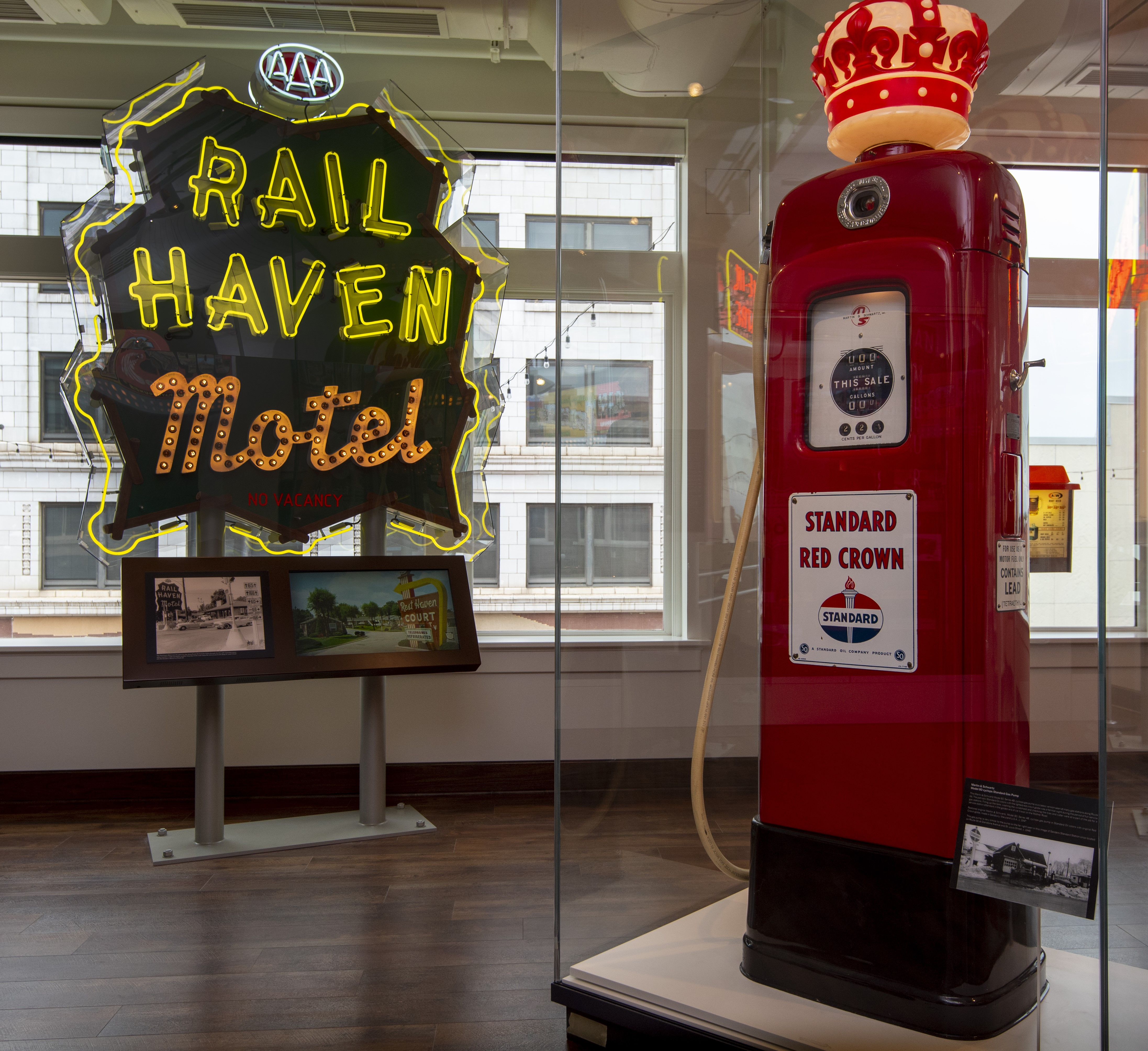Rail Haven Motel & Standard Gas Pump