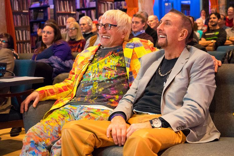Randy and His Partner, Mac Mcdermott