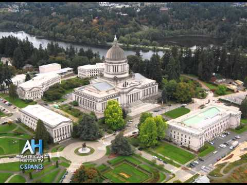 The Washington State Capitol Campus along Puget Sound