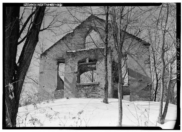 Building, Window, Branch, Snow