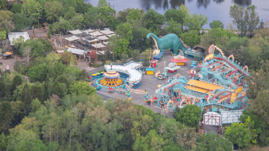 Dinoland USA aerial view