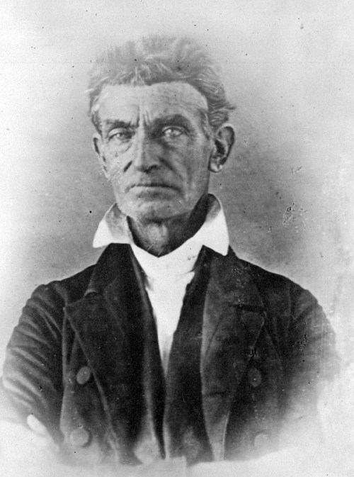 John Brown, around the time he lived in Kansas Territory