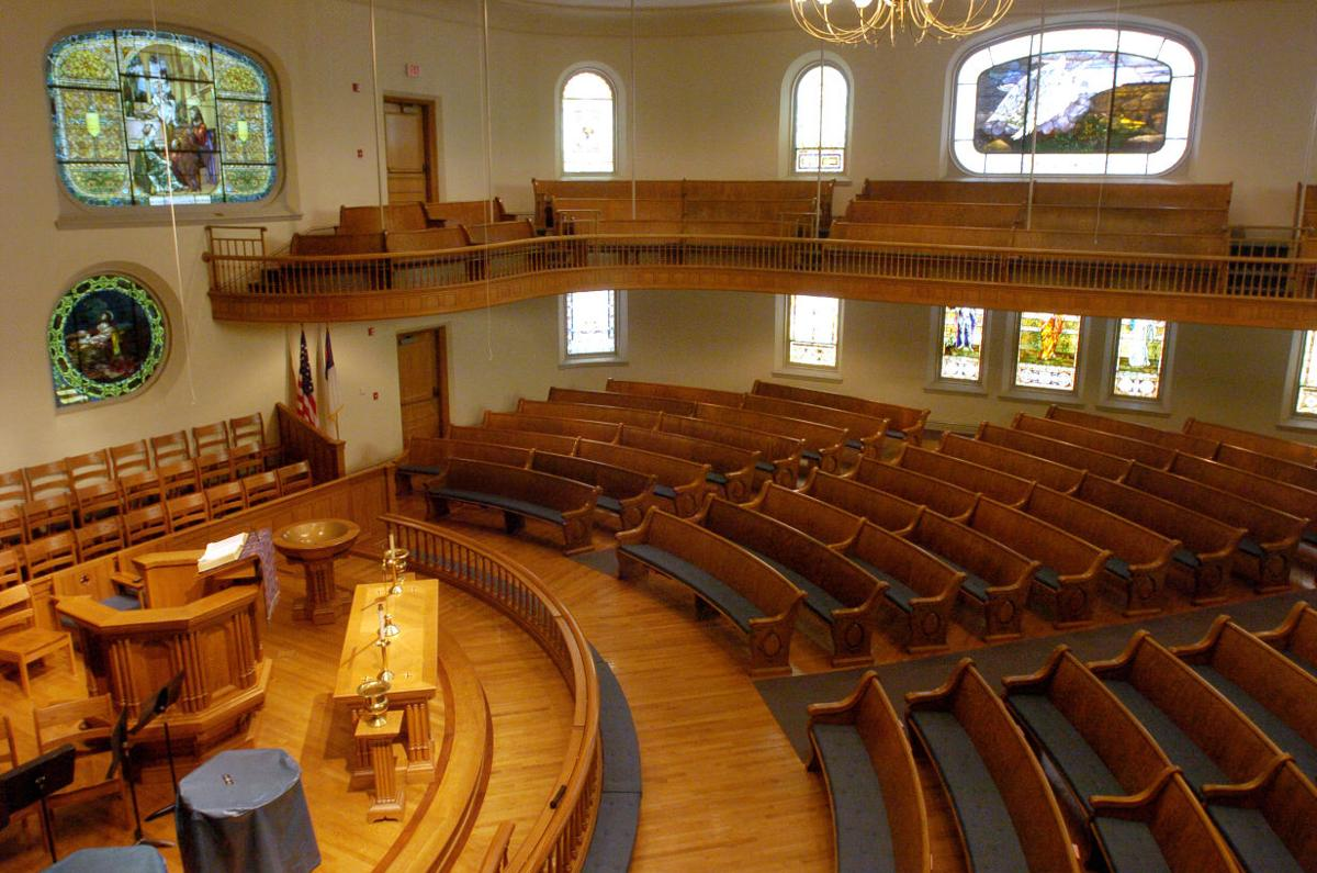 Interior of WMC