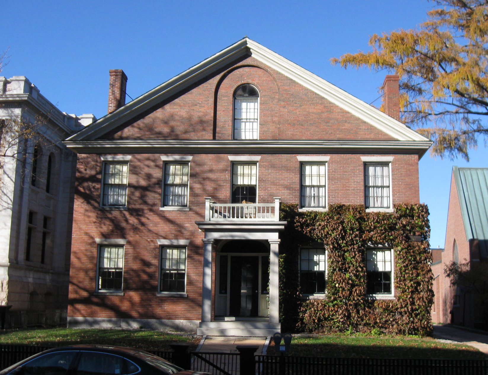 The Upham-Walker House, downtown Concord, New Hampshire