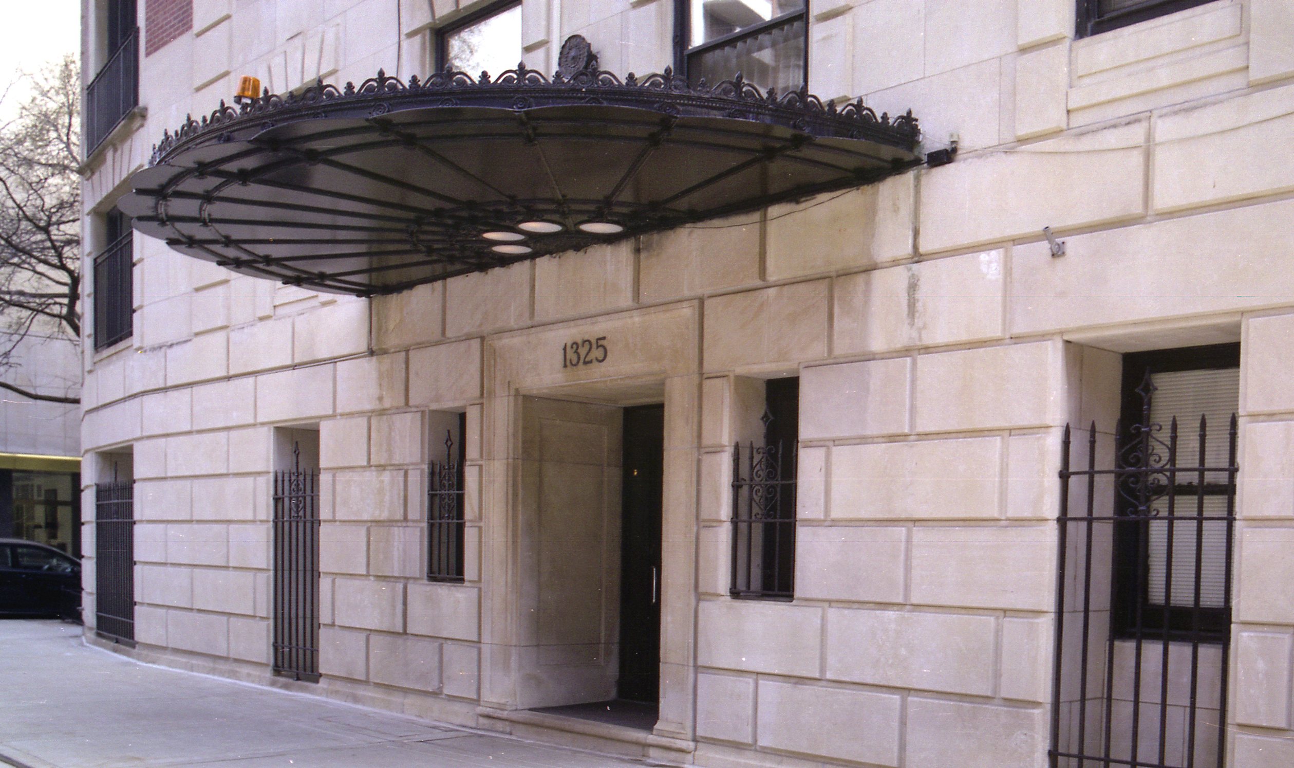 Front Entrance of the Building