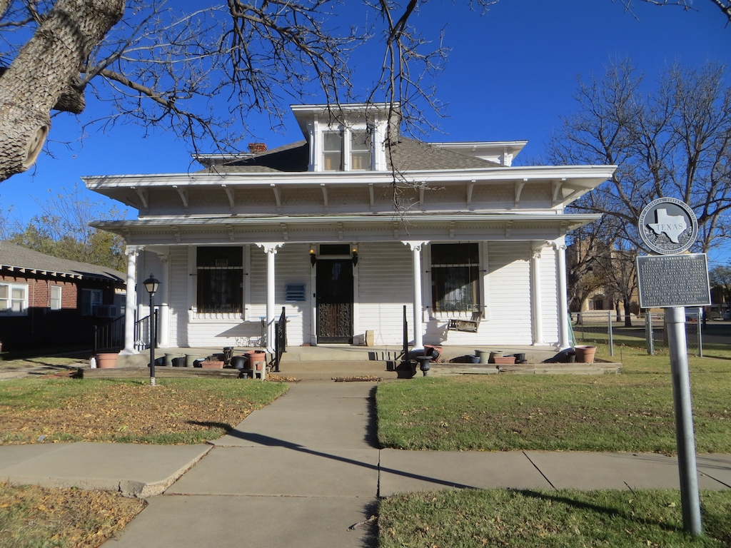 The. H.B. Sanborn House was built in 1902 and is one of the oldest homes in Amarillo.