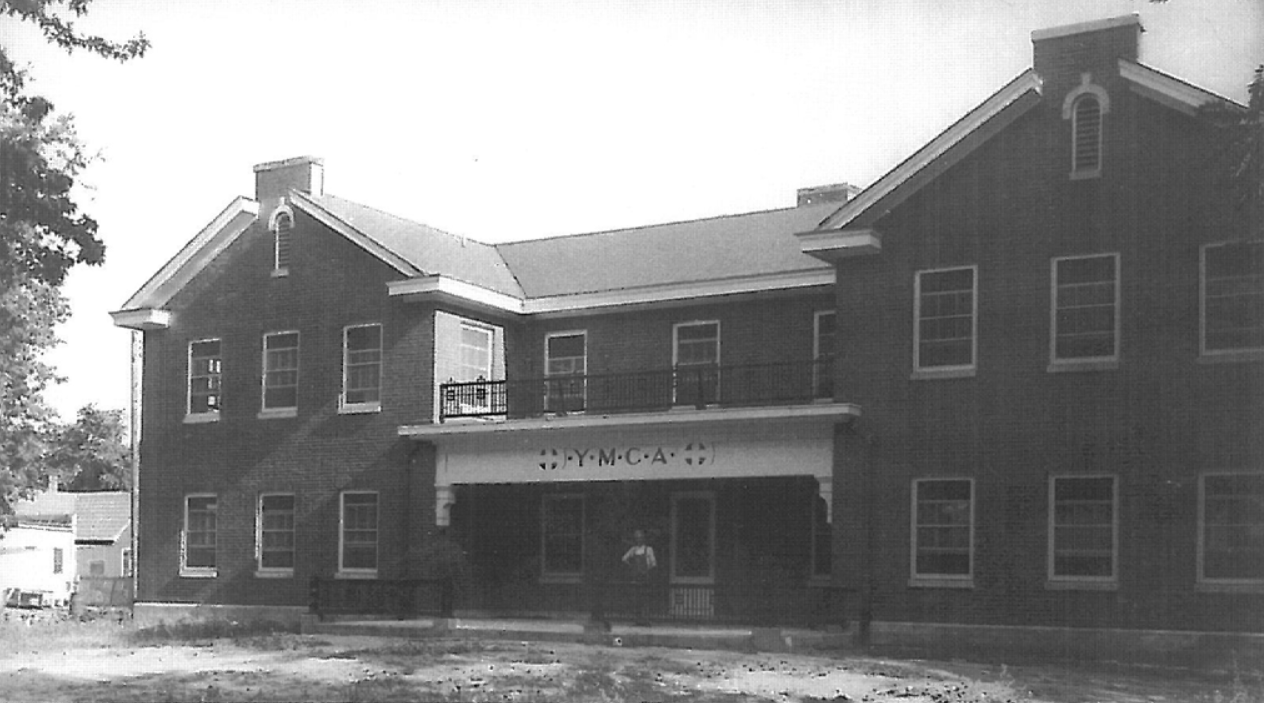 The Railroad YMCA in 1951
