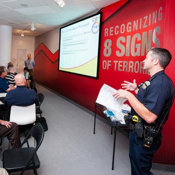 8 Signs of Terrorism Program