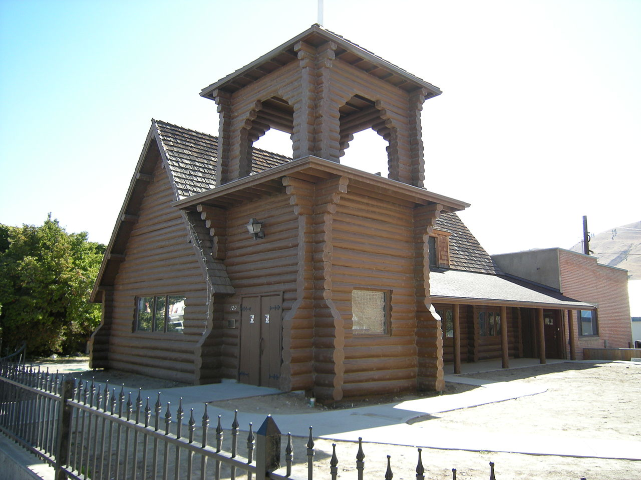 Built in 1898, St. Andrew's Episcopal Church is believed to be the oldest log church in the state still used by the same congregation.