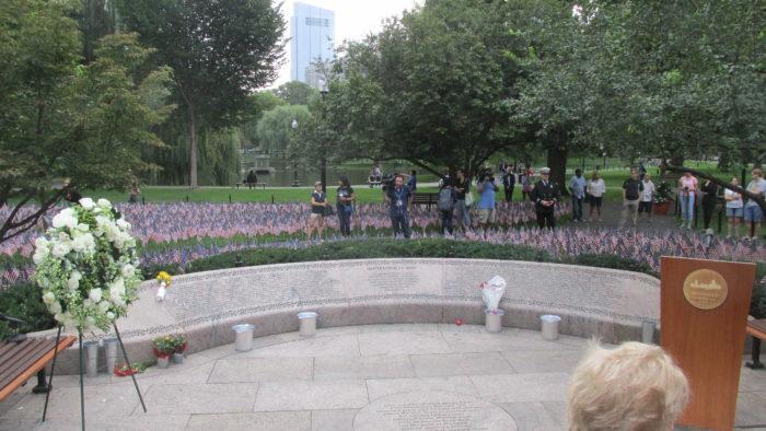 Boston Public Garden 9/11 Memorial