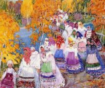 One of Gaspard's Spectacular Works: The Russian Peasant Parade (1911)