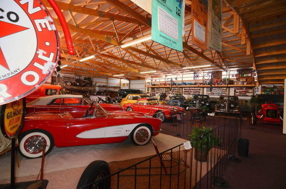Motion Unlimited Museum & Antique & Classic Car Lot was established in 1972.