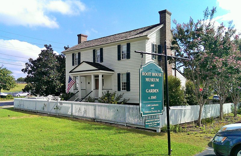Built around 1845, the Root House is one of the oldest buildings in Marietta.