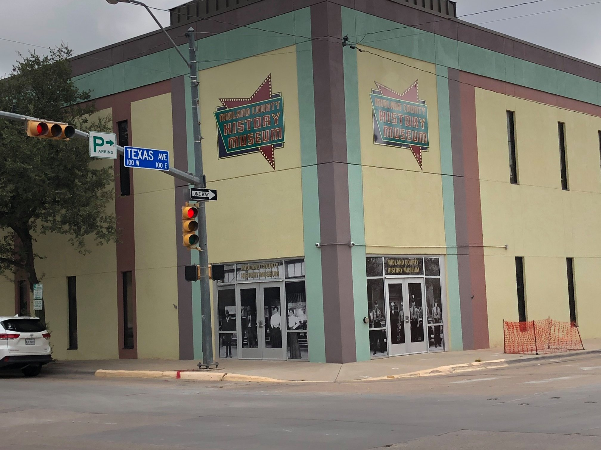 Visit the Midland County History Museum at the corner of Main and Texas.