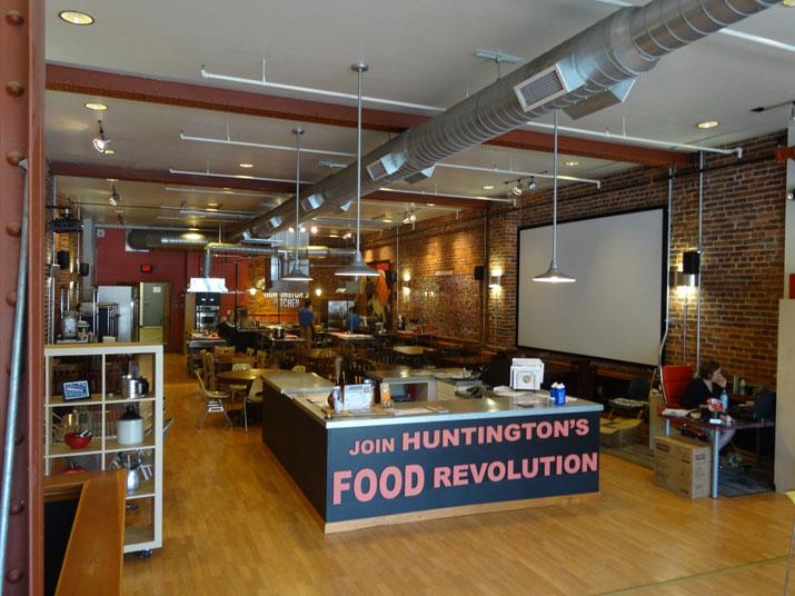 Interior of Huntington's Kitchen