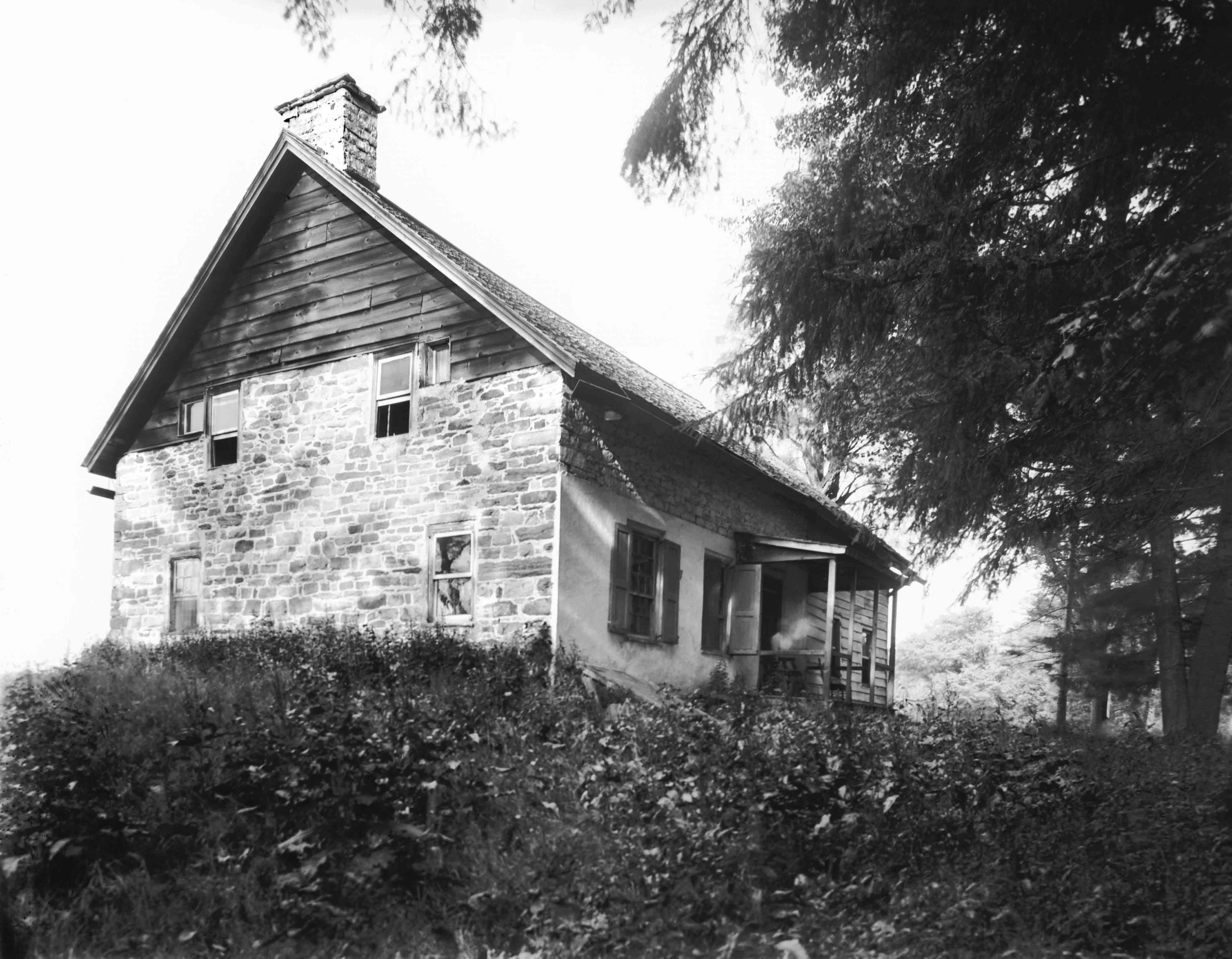 Romer-Van Tassel House, July 25, 1906.