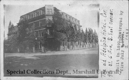 Adelphia Hotel, circa 1900