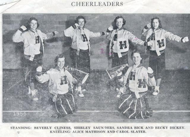 Cheerleaders, 1955