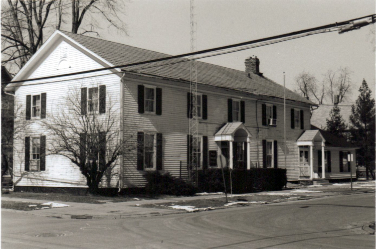 Avon Township Hall, south and east elevations, 1978