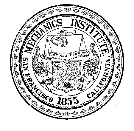 The Mechanics' Institute insignia